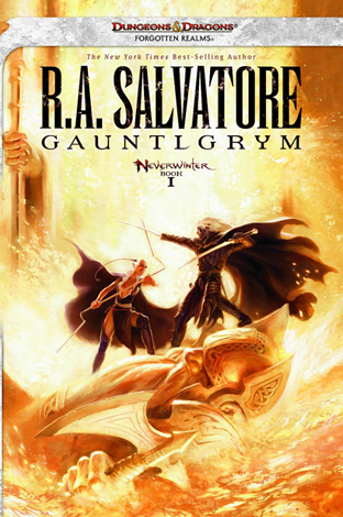 books like ra salvatore